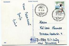 1989 Rovaniemi Suomi Finland Napapiri Polar Arctic Circle Antarctic Cover