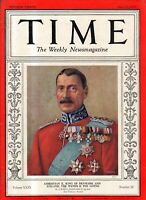 1937 Time May 17-Hindenburg blows up; Roosevelt sends sympathy to Hitler;Trotsky