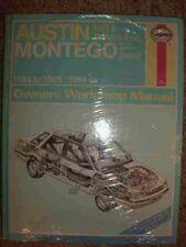 AUSTIN MONTEGO WORKSHOP MANUAL