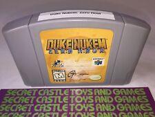 Duke Nukem: Zero Hour - N64 - Nintendo 64- Cleaned & Tested 30 DAY WARRANTY !!