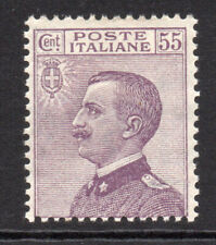 Italy 55 Cent Stamp c1908-27 Mounted Mint Hinged (5478)