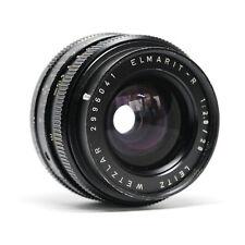 :Leica Leitz Elmarit-R 28mm f2.8 3-Cam 11204 R Mount Lens (Read)