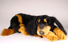 Gordon Setter by Piutre, Hand Made in Italy, Plush Stuffed Animal NWT