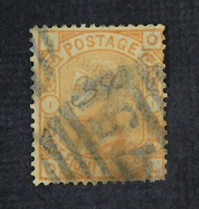 CKStamps: Great Britain Stamps Collection Scott#73 Victoria Used Tiny Thin