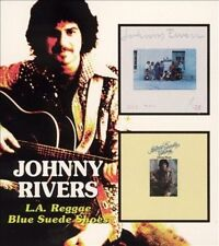 L.A. Reggae/Blue Suede Shoes [Slipcase] by Johnny Rivers (CD, Aug-2005, Beat Goes On)