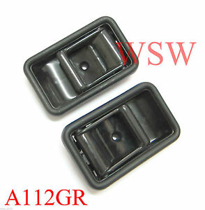 2x Inner door handle For 85-98 Mazda Bravo B series B2000 B2200 323 Ford Courier