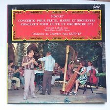 MOZART Concerto flute harpe orchestre CHRISTIAN LARDE MC JAMET PAUL KUENTZ FC422