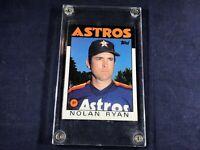 M3-21 BASEBALL CARD - NOLAN RYAN HOUSTON ASTROS - CARD #100 - 1985 TOPPS