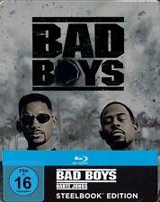BAD BOYS, Harte Jungs (Martin Lawrence, Will Smith) Blu-ray Disc, Steelbook NEU