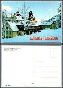 """AUSTRIA Postcard - Schloss Kassegg bei St. Gallen """"2"""" GG20"""