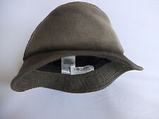 Jaeger Olive Green  hat 100% Cotton 6 3/4 inch MiNT.£28.99