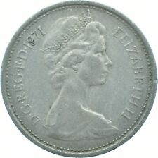 1971 LARGE 5P COIN ELIZABETH II.  #WT17504