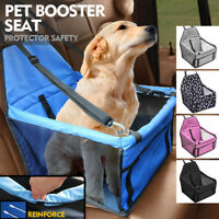 Puppy Dog Car Seat Booster Small Auto Travel Lookout Carrier Safety Basket Pet H
