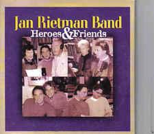 Jan Rietman Band-Heroes&Friends cd maxi single Cardsleeve