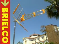 ANTENA TV TDT UHF EXTERIOR TRIPLE ARRAY CANALES 21-69 LONGIT. 1050MM 18DB BD7269