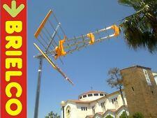 ANTENA TV TDT UHF EXTERIOR TRIPLE ARRAY CANALES 21-69 LONGIT. 1050MM 18DB BD7269