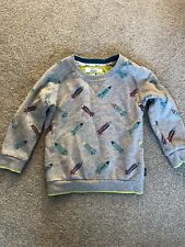 Age 6-7 TED BAKER Boys Blue//Green Merino Wool Jumper RRP £28