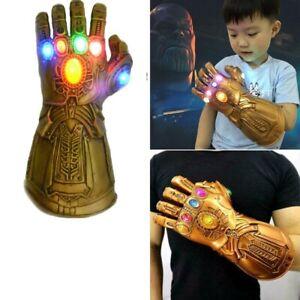 Adult Kids Thanos Gauntlet Glove Infinity War Cosplay Props Toy Gift