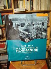 Michel CROGUENNEC 1893-1987 Les chantiers de Normandie 2008