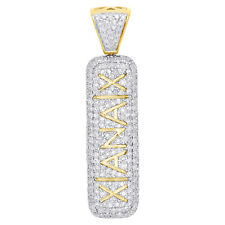 10k Yellow Gold Diamond 3d Double Sided Xanax Pill Pendant and Oxy (message Me)