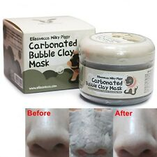 Elizavecca Carbonated Bubble Clay Mask Peel 100g Mudd and Charcoal Pores Cleanse