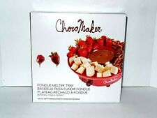 NEW ChocoMaker Fondue Melter Tray