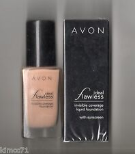 Avon*ideal Flawless Liquid Foundation With Sunscreen*30g Caramel