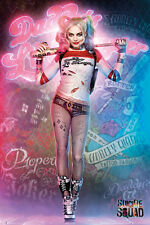 HARLEY QUINN - DADDY'S LITTLE MONSTER - SUICIDE SQUAD MOVIE POSTER 24x36 - 52061