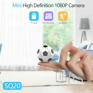 SQ20 1080P HD Small Camcorder Football Shape Camera Outdoor Sports Aerial Cam S5
