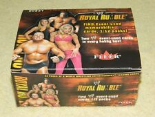 2002 Fleer WWE Royal Rumble Empty Display Box (RARE!!!)