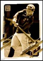 Francisco Lindor 2021 Topps 5x7 Variation Short Prints Gold #309 /10 Indians