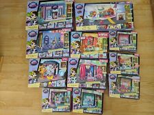 Littlest Pet Shop LPS STYLE SETS Blythe Doll Bedroom Jet Rio Club Park Room LOT