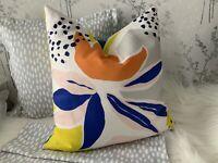 "16 x 16""John Lewis Camino Fabric Cushion Cover Double Side Handmade Multicolour"
