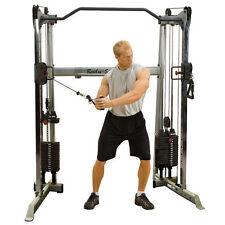 Pro Dual Multi-Kabelzug 2 x 72 kg Gewichtspaket, Gerät für Fitnessstudio