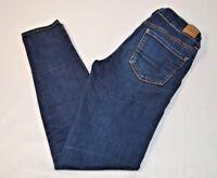 American Eagle Women Jeans Size 4 Dark Wash Blue Jeans Super Stretch Jegging