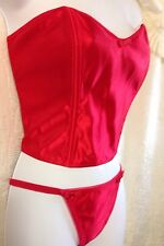 Empire Intimates Red Adult Women Lingerie/Camisole&Panty, NWOT, L