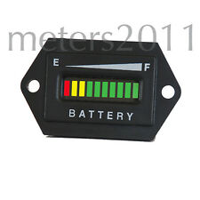 36 Volt Battery Discharge Indicator for Solar, Golf, Boat, etc- HEXOGONAL