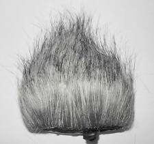 Gray Black Fur Windscreen For The Zoom H4N Tascam DR -05 Handheld Recorder