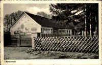 Schwanewede Niedersachsen AK ~1950/60 Partie Schule Gebäude Bauwerk ungelaufen