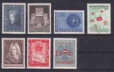 Österreich Jahrgang  1956 postfrisch** 7 Werte