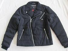 a25f40bc3 True Religion Quilted Moto Biker Jacket-Polyester- Black-Men s Med -NWT  349