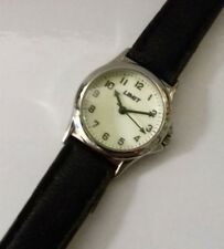 VINTAGE Lady Girl Limit Stainless Steel Glow Watch Quartz Full Working Order
