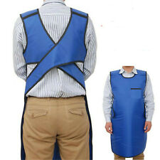 Dental Flexible X-Ray Protection Protective Lead Apron Cover 0.35mmpb Blue Color