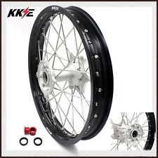 "KKE 2.15*19"" Casting MX Rear Wheel Rim For HONDA CR125R CR250R 2002-2013 Silver"