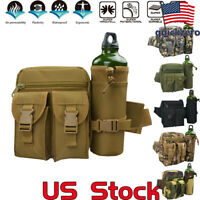 Military Hiking Belt Bags Traveling Camping Outdoor Water Bottle Waist Backpacks
