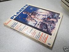 REVUE MAGAZINE le nouveau PLANETE N° 6 avril 1969 *