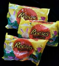 REESE'S Milk Chocolate Peanut Butter Cups Miniatures,11 Oz- 3 Bags Candy