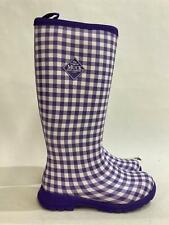 NEW MUCK Boot Company Breezy Tall Purple Insulated Rain Boot Ladies Sz 7 RRP$300