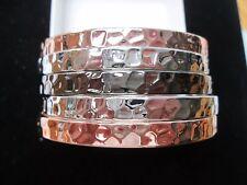 """New Park Lane """"Dominique"""" 5 Bangle Bracelet Set"""