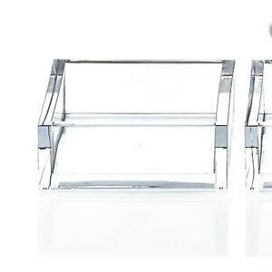 SKY TAB Tablett Q quadratisch Decor Walther Acryl Schale Badablage